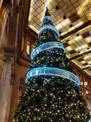 Le luci del Natale riscaldano il cuore