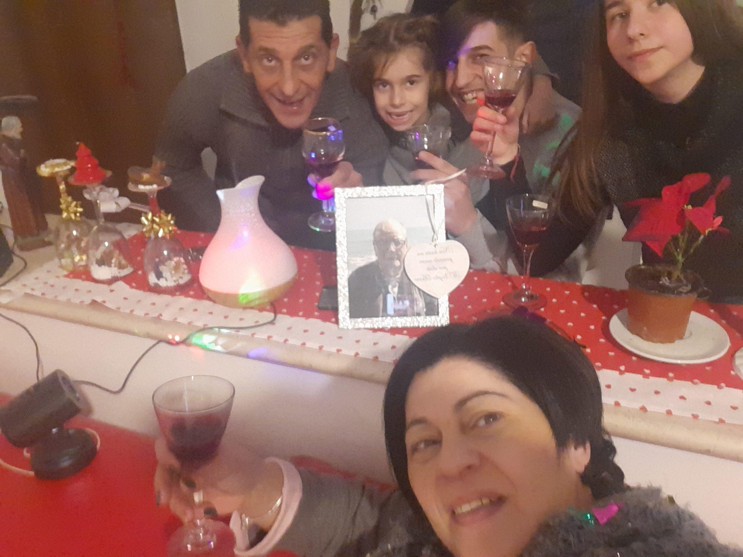 Un buon Natale al mio adorato papà ke e volato via