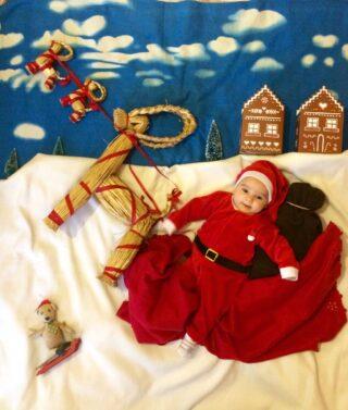 Quando hai un Babbo Natale tutto tuo