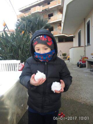 Un Ninja della neve!