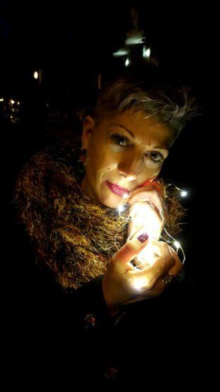 La magia delle luci di Natale...