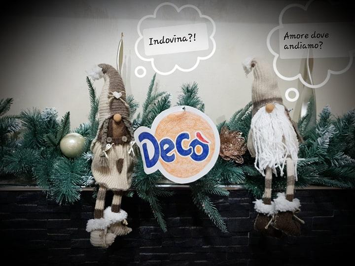 Natale...i desideri con Decò vanno indovinati!