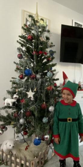 Il Natale negli occhi dei bambini brilla️️️