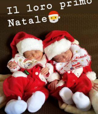 Il Natale piú bello con la nascita delle gemelline