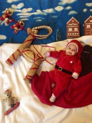E se Babbo Natale fosse stato piccolo.Auguri