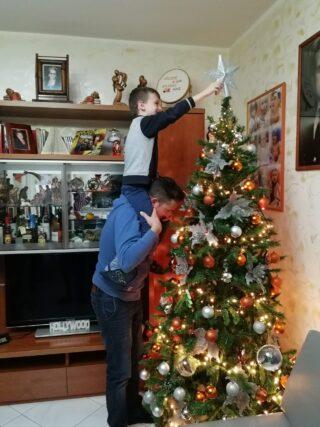Natale è tramandare tradizioni di padre in figlio