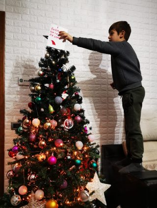 Natale,speranza negli occhi di un bambino..