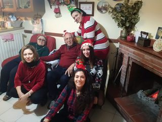 Natale é avere ancora i genitori accanto