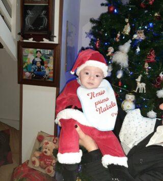 Natale è: mio figlio Diego! Ti amo